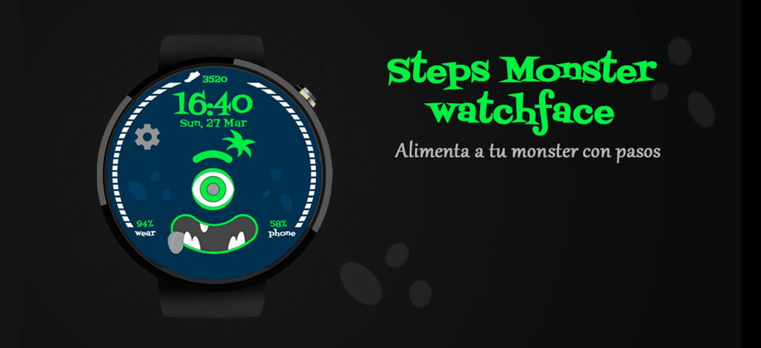 Monster watchface